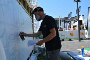 team building graffiti street art