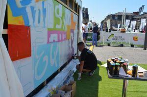 team building graffiti paris