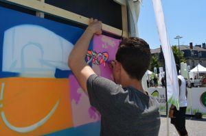 team building graffiti maquis art